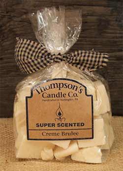 Creme Brulee Scented Wax Crumbles