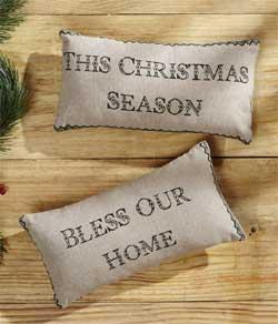 Timberland Christmas Pillows (Set of 2)