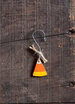 Candy Corn Ornament - Mini