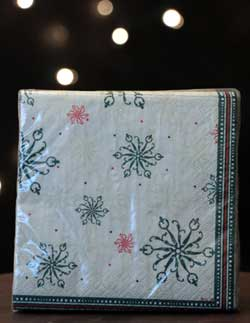 Chalet Noel Paper Cocktail Napkins