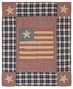 Independence Throw (Quilted)