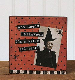 Witch All Year Sitter