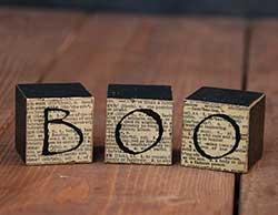 Boo Newsprint Blocks