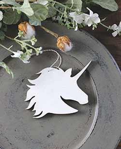 Unicorn Personalized Ornament