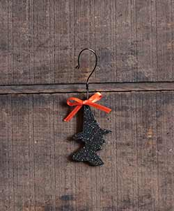 Witch Glitter Ornament