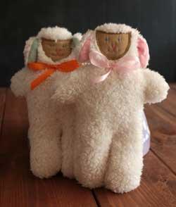 Mini Lamb - Pink Corduroy