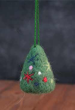 Whimsy Tree Woolen Ornament
