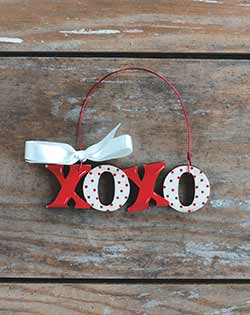 XOXO Ornament